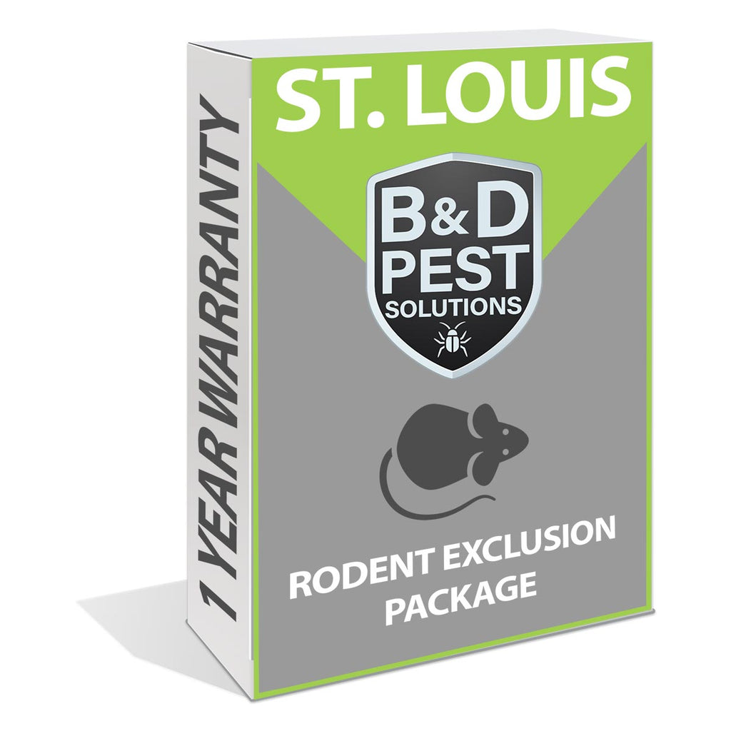 St. Louis 1 Year Rodent Exclusion Package (12 Month Guarantee)