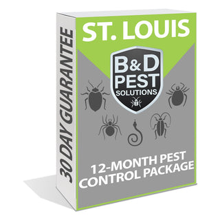 St. Louis 12-Month Pest Control Package (12-Month Guarantee)