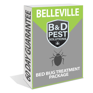 Belleville Bed Bug Treatment Package (60 day guarantee)