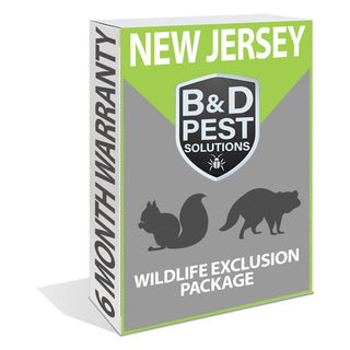 New Jersey 6 Month Wildlife Exclusion Package (Includes Raccoons & Squirrels)