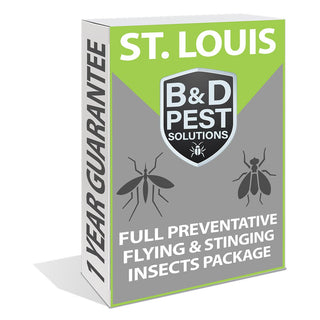 St. Louis Full Preventative Flying & Stinging Insects Package