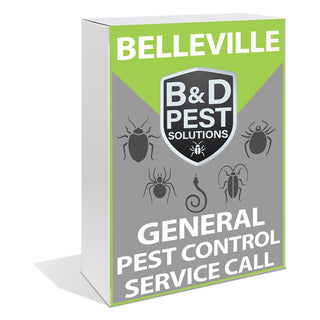 Belleville General Pest Control Service Call
