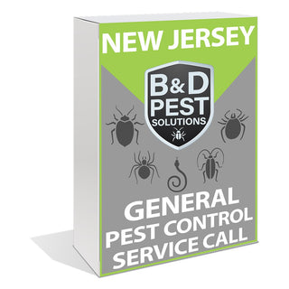 New Jersey General Pest Control Service Call (30 Day Guarantee)