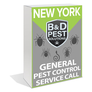 New York General Pest Control Service Call (30 Day Guarantee)