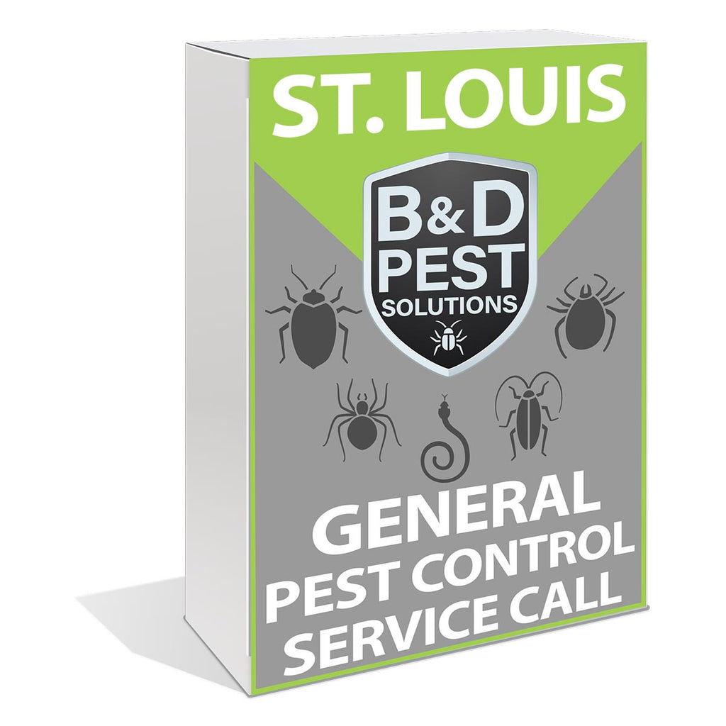 St. Louis General Pest Control Service Call