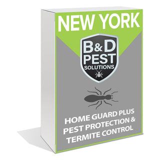 New York Home Guard Plus Pest Protection & Termite Control (12 Month Guarantee)