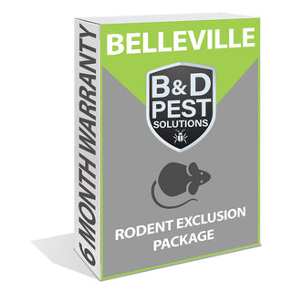 Belleville Rodent Exclusion Package (6-Month Warranty)