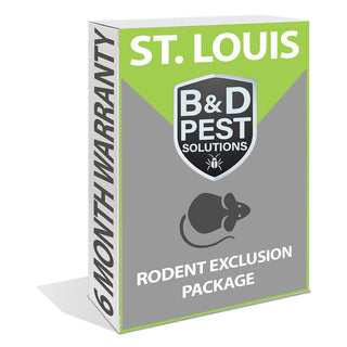 St. Louis Rodent Exclusion Package (6-Month Warranty)