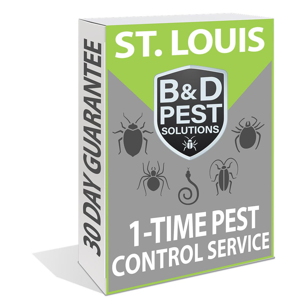 St. Louis 1-Time Pest Control Service (30-Day Guarantee)