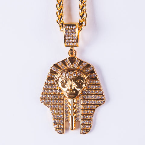 Pharaoh Pendant - Gold plated uk