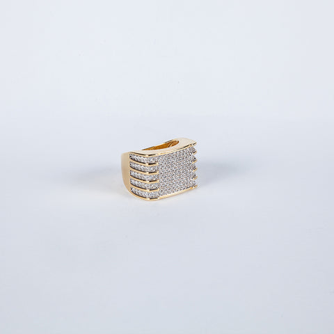 Gold Vermeil Royal Ring .925 - Gold plated uk