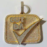 Cut Da Check Pendant