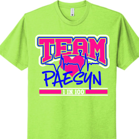 Team Paesyn CHD Awareness