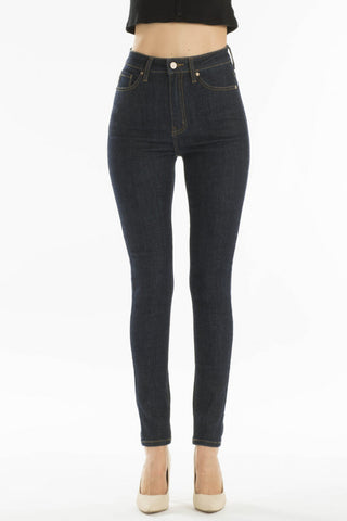 Super High Rise Skinny Jeans Dark Rinse