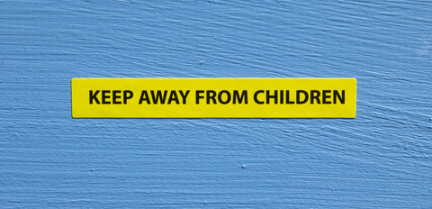 Keep Away From Children Sticker