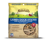 New England Naturals Lamb Sticks with Blueberry Glaze