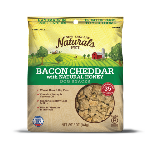 New England Naturals Bacon Cheddar Flavor Dog Snacks