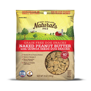 New England Naturals Naked Peanut Butter with Quinoa Seeds
