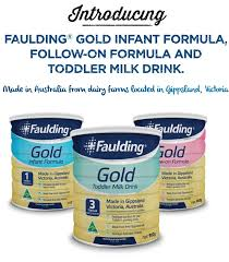 Mackay 13th January 2018 - 7 x Faulding® Gold Infant formula