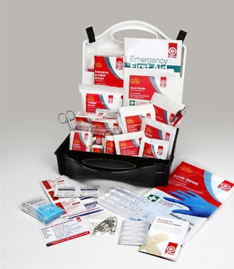 St John Ambulance 150 Piece Comprehensive First Aid Kit