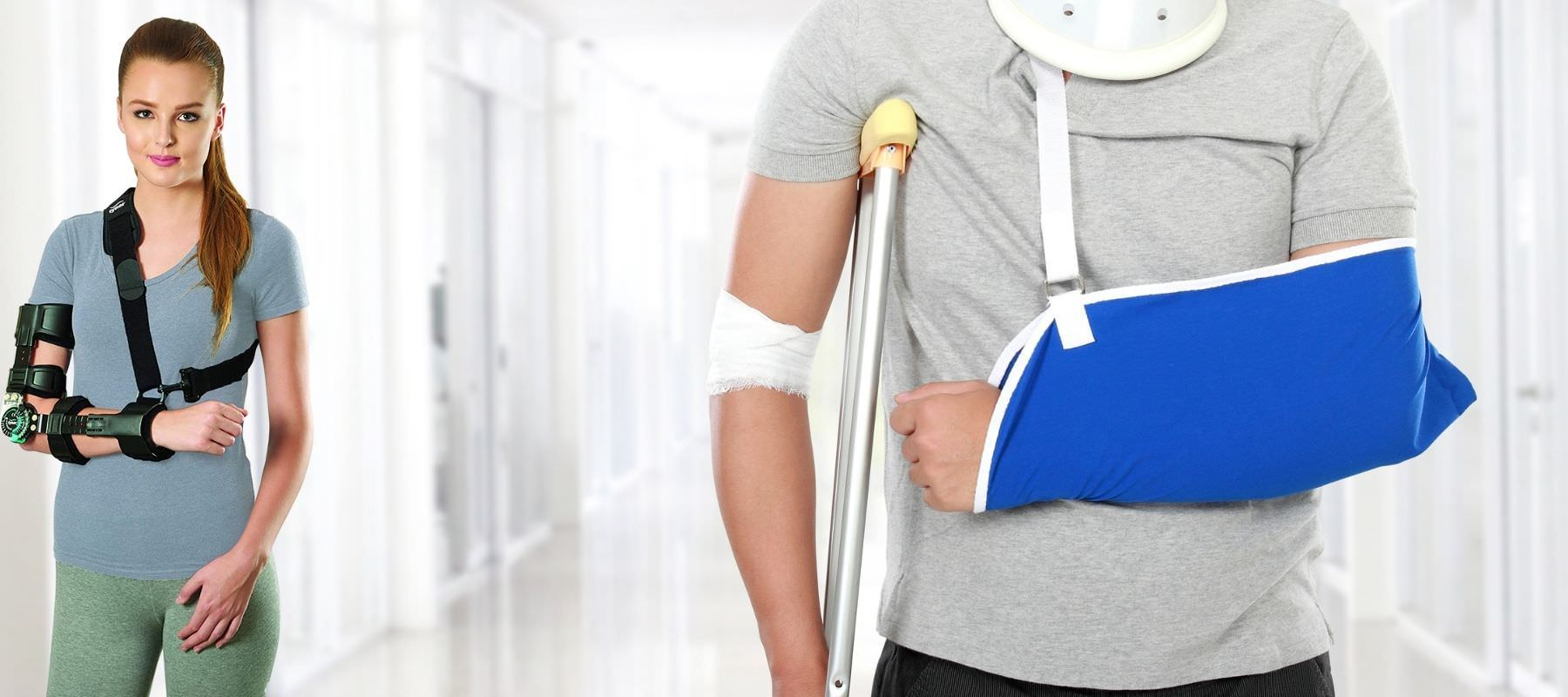 Fracture Aids such as Immobilizers, Belts, Posture Aids, Crepe Bandages, Cast Shoes