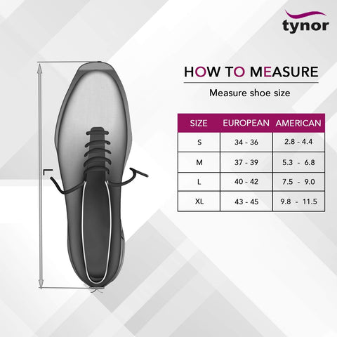 Cast Shoe Size Chart