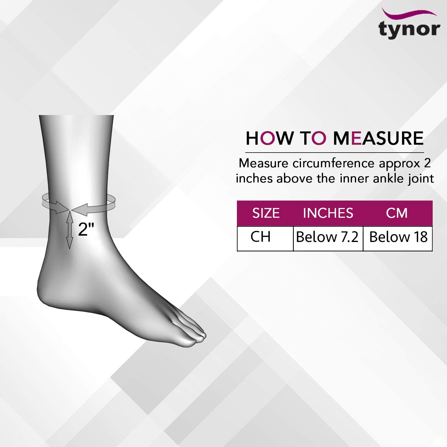 Tynor_Ortho_Pediatric_Moon_Boot_Cam_Walker_Boot_Child_Size Chart