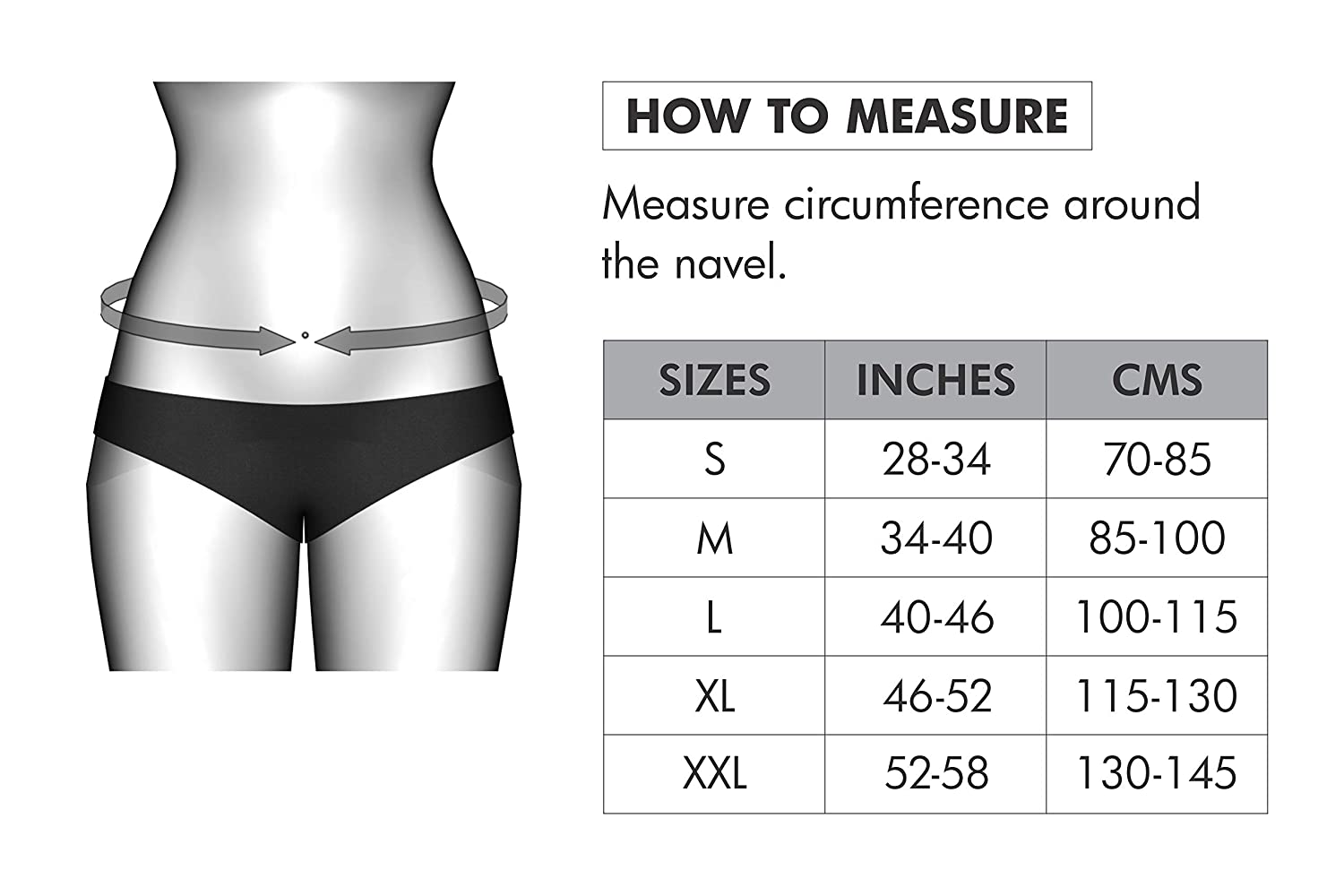 Abs Wrap Size Chart