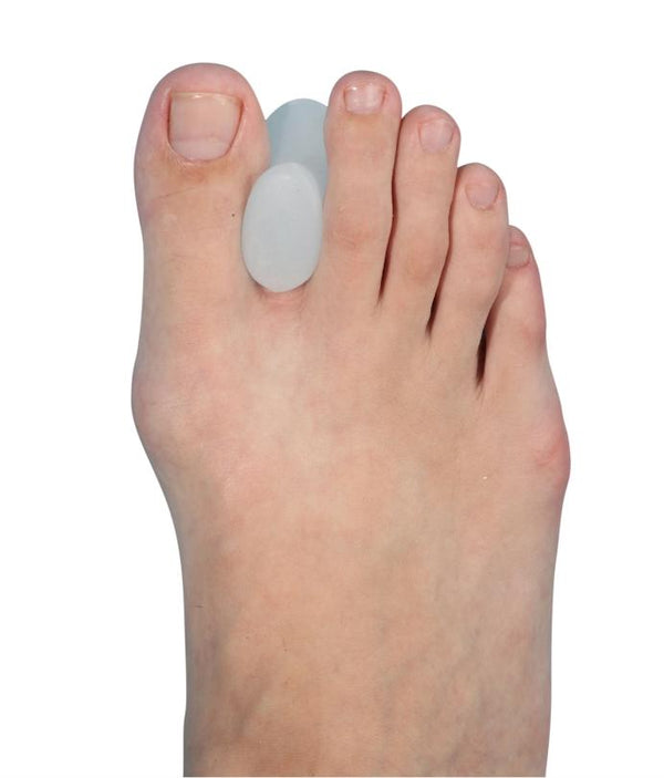 Tynor Australia Toe Separator Silicone (Pair)-Physio Supports-Toe Separators and Spreaders for Bunion Relief, Hammer Toe, Overlapping Toes and Drift Pain Pads