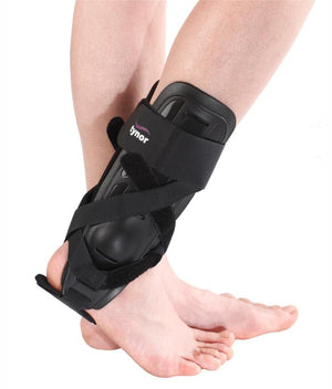 Tynor Australia Ankle Splint- Hemiplegia of the foot   Malleolar fractures Chronic instabilities of the ankle Chronic or recurrent ankle sprains Post-operative, Post-cast rehabilitation Post-operative care of Tendon/Ligament Repairs Control edema and pain following injury Increase ankle stability and activity Prevent inversion or aversion injuries Post fracture rehabilitation Improve endurance Tendonitis Prophylaxis in Sports activities
