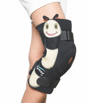 Knee Wrap Hinged (Neoprene) Child kids post-surgical care fracture tendon early/mild osteoarthritis, mild sprains and strains of knee