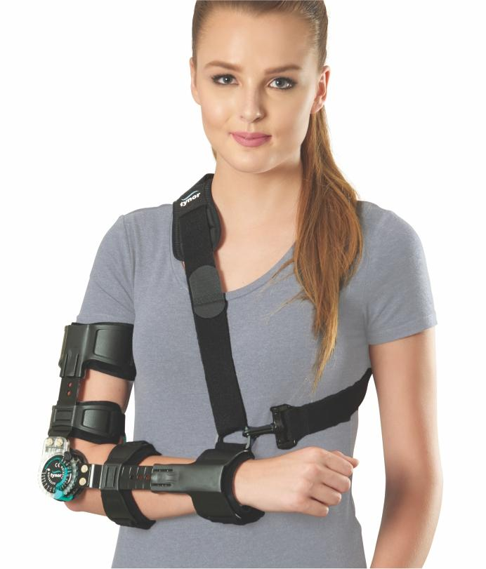 Tynor Hinged Rom Elbow Brace With Sling Range Of Motion