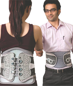 Lower Back Support Brace Belt Lumbar Spondylosis Lumbago