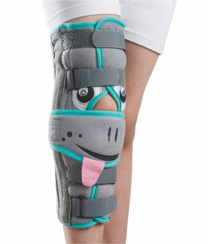 Tynor Australia Paediatric Knee Immobiliser Child Adjustable Tri-Panel Straight Leg Support Brace ractures, muscular/ligament injury, and dislocations Early cast removal Immobilization