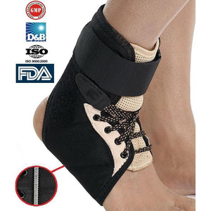 Lace Up Ankle Support Brace Ankle Injury Prevention - Physio Supports
