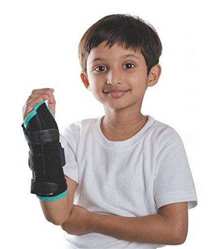 Tynor Australia Child Brace cast removal of fracture, Rheumatoid Arthritis of the wrist, Carpal Tunnel Syndrome, Wrist Tendonitis (pain and swelling around wrist), Tenosynovitis