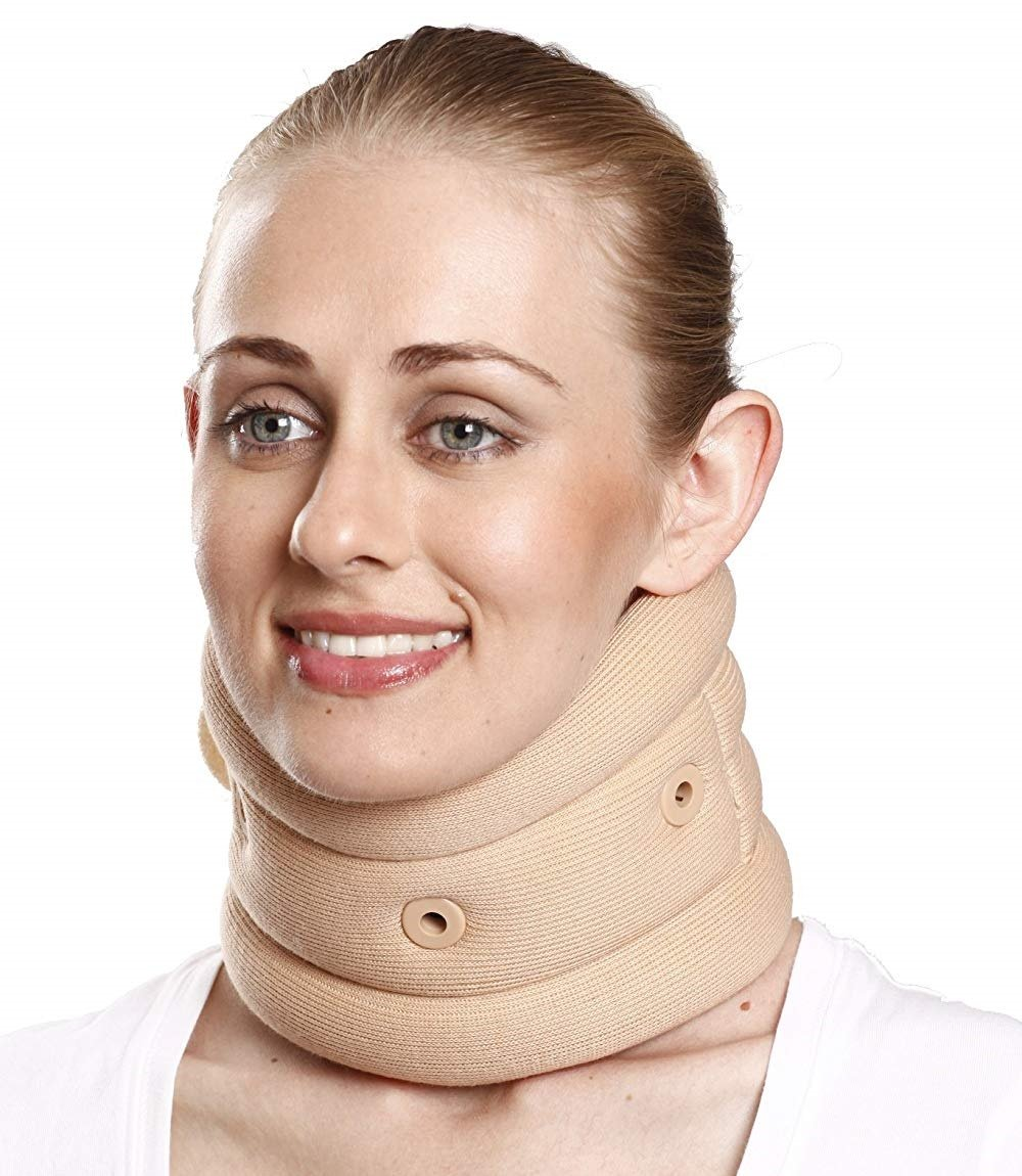 Tynor Australia Soft Cervical Collar With Support for neck sprain, stiff neck, Cervical Spondylitis, Cervical disc disease., Torticolles and Post operative care