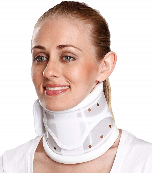 Tynor Australia Cervical Collar Hard Adjustable for Cervical Spondylitis, Cervical disc disease, Cervical neuralgia, Fractures of cervical spine, Torticolies, Early Rheumatoid disease, Whip lash injuries, Neck Pain