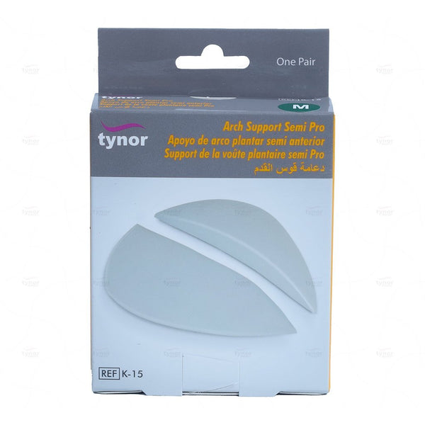 Tynor Australia Arch Support Shoe Insoles for Flat Feet, Gel Arch Inserts for Plantar Fasciitis