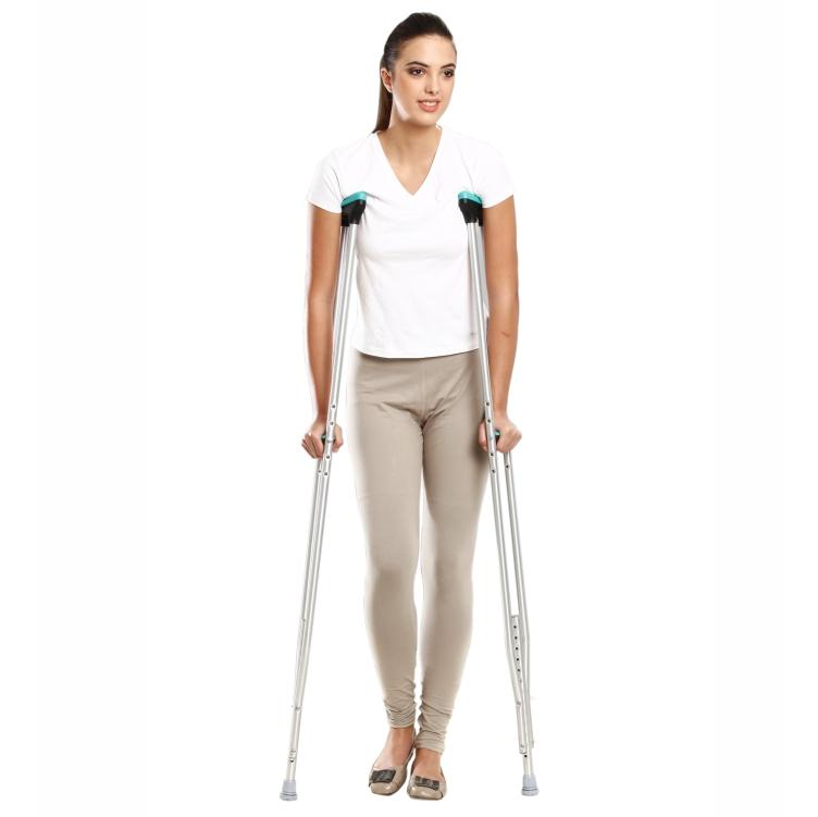 Tynor Australia Auxiliary Crutch (Pair) Walking Aids Physio Supplies Orthopedic aids Physio Supports Australia