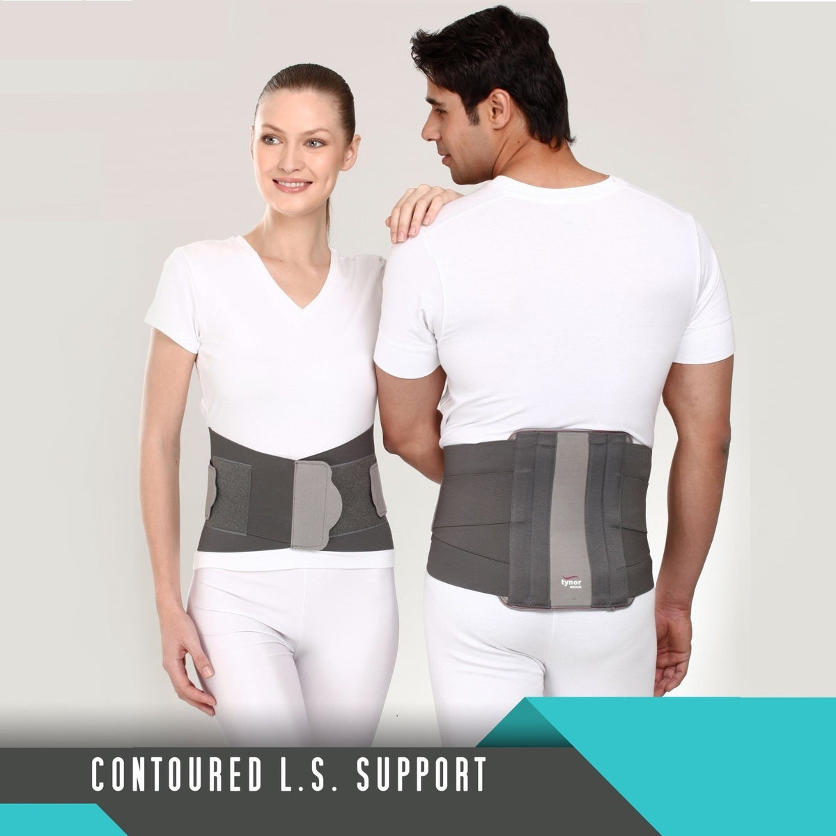 Tynor Australia Contoured Lumbo Sacral Support (Removable Metal Stays) Body Belts & Braces Physio Supplies Orthopedic aids Physio Supports Australia