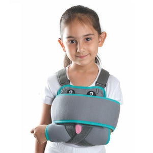 Tynor Australia Universal Shoulder Immobilizer Child fracture Arm Sling Clavicle fracture (broken collarbone)  Shoulder dislocation or subluxation  Shoulder strain  Fractured arm  Rotator cuff injury