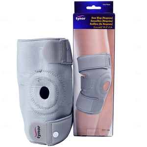 Tynor Physio Supports Australia Knee Wrap Neoprene For tendonitis Osteoarthritis, Rheumatoid Arthritis, Chondromalacia/Runner's Knee (damage to the cartilage under the kneecap), sports-related injury, sprains and strains of the knee
