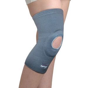 Tynor Knee cap open patella Knee Support Wrap for Women & Men - Compression for ACL, MCL, Torn Meniscus Ligament & Tendonitis Sports Running