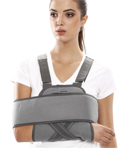 Tynor® Shoulder Immobilizer Arm Sling-Physio Supports- Physio Supports Tynor Ankle Brace with Straps · Tynor Ankle Wrap · Tynor Arm Sling · Tynor Back support Tynor Breathable Wrist Brace Tynor Ceramic Ankle Support · Tynor Elbow Support. physio supports. australia. fracture. sprained ankle, orthopedic appliances,Orthopaedic Braces & Supports