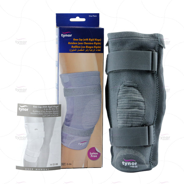 Tynor Australa Knee Support Rigid Hinged for Osteoarthritis, arthritis, ligament injury, ACL and PCL tears, Post operative care, Sports, meniscectomy