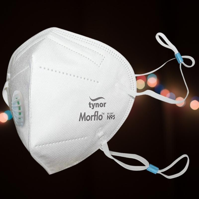 Morflo KN95 Mask - With Exhalation Valve