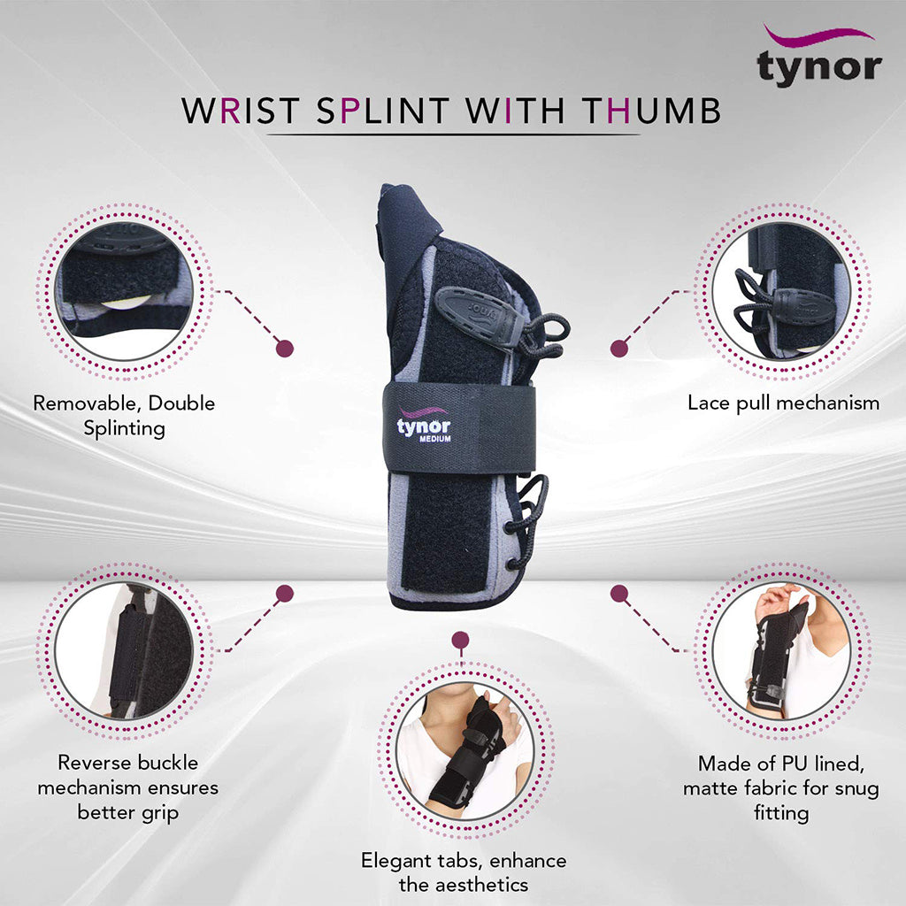 Wrist Splint With Thumb Spica
