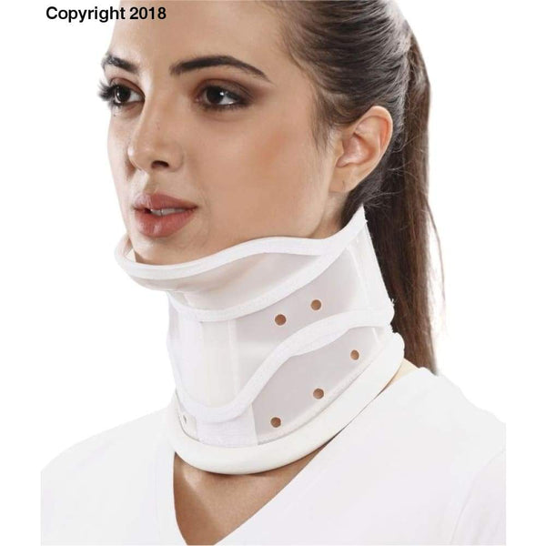Tynor Australia Adjustable Cervical Collar Hard With Chin - Neck Cervical Spondylitis Cervical disc disease Cervical Neuralgia Fractures of Cervical Spine Post operative care Severe trauma Torticollis