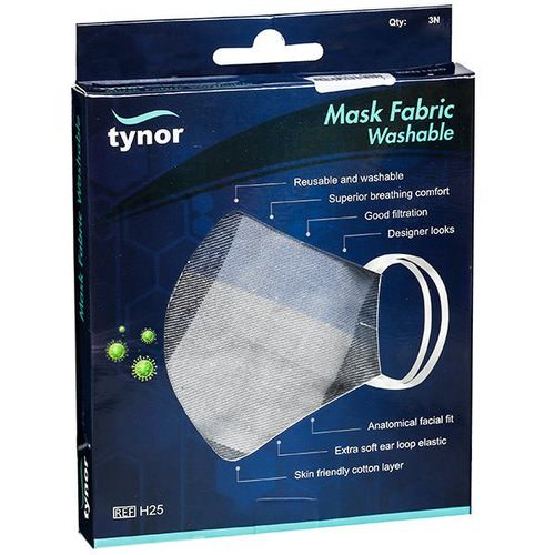 Mask Fabric Washable (3 Pack)